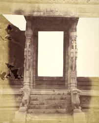 Entrance to the Kalyana Mandapa of the Vitthala Temple, Vijayanagara